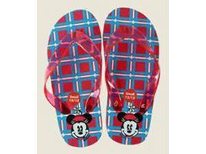 Disney Minnie Mouse Children's Red/Blue Sandals size 1/2