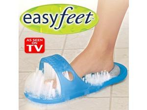 EASY FEET foot cleaning system ~ Cleans, Exfoliates & Massages ~ As Seen on TV >
