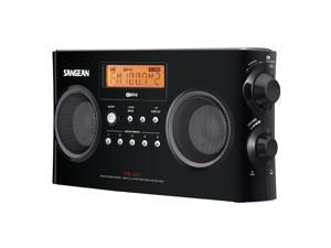 Sangean FM-Stereo RDS (RBDS) / AM Digital Tuning Portable Receiver- Black