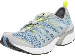 Ryka K1220WSLK Aqua Fit 4  Grey/Light Blue/Light Green Women Training Sneakers Size7
