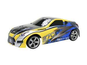 Touch Screen Radio Control Nissan 370 Blue Yellow Remote Control Car