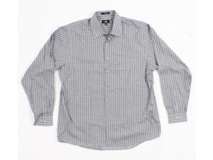 Calvin Klein Men's Black Long Sleeve Button Down Shirt Size:17 1/2