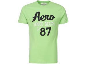 Aeropostale Venice Beach 87 Green Mens T-Shirt Size XXL