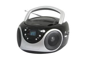 Supersonic SC-507MP3 Portable MP3/CD Player with AM/FM Radio- Black