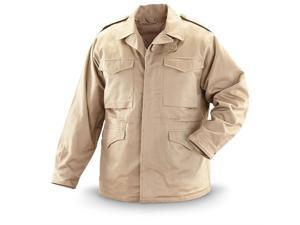 Alpha industries Field Jacket Khaki Mens Woven Jacket Size XL