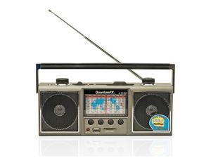 Quantum FX J-114U AM/FM/SW1-SW9 Radio USB/SD Player