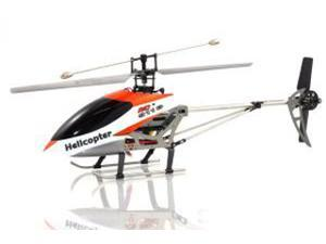 XP H-9116-O Big Metal Gyro Remote Control Helicopter - Orange