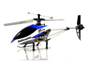 XP H-9116-B Big Metal Gyro Remote Control Helicopter - Blue
