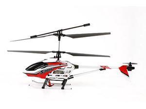 "Syma S301G 18"" 3CH Gyro RTF RC Helicopter w/ 27 mhz Transmitter (Red)"