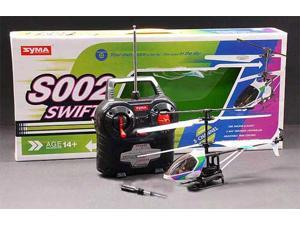 3 CH SYMA S002 Swift RC Helicopter