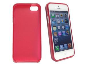 Clear Red Thin TPU Case Cover Skin for New Apple iPhone 5 Protective Cover