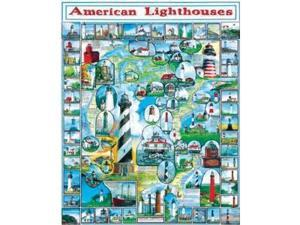 White Mountain Puzzle : Lighthouse- 1000 pcs