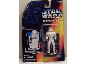 Star Wars POTF Stormtrooper with Blaster Rifle and Heavy Infantry Cannon