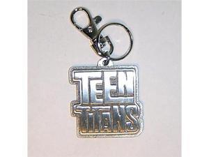 Teen Titans Logo Pewter Keychain