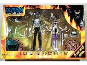 Devilman Fewture Action Figures Premium Boxed Set Akira and Miki