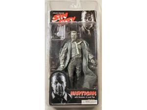 Frank Millers Sin City Hartigan Black and White Action Figure