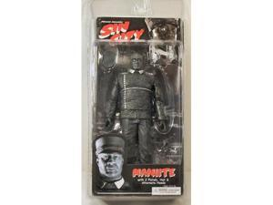 Frank Millers Sin City Manute Black and White Action Figure
