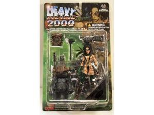 Heavy Metal 2000 F.A.K.K. 2 Action Figures Camouflage