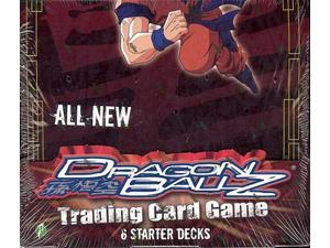 Dragonball Z The Arrival Trading Card Game Starter Deck Box