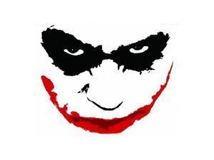 The Dark Knight Joker Face Wall Graffix