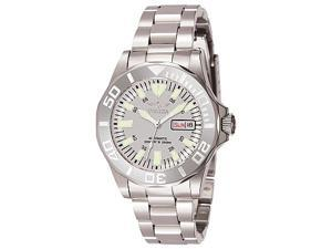 Invicta Sapphire Diver Silver-tone Dial Stainless Steel Mens Watch 7048