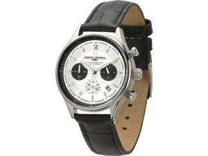 Jorg Gray JG6550L Women's Chronographs Silver Dial 100M WR Watch