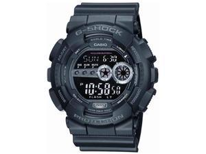G-Shock GD100-1B Chrono Quartz Resin Men's Watch