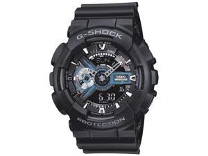 Casio GA110-1B Men's G-Shock Extra Large World Time Alarm Watch