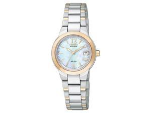Citizen Silhouette Eco-Drive Mother-of-Pearl Dial Women's Watch #EW167652D