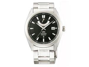 Orient FFD0F001B Men's Vintage Stainless Steel Black Dial Power Reserve Automati