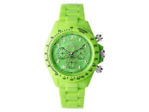 Toy FL11GR Women's Green Plasteramic Chronograph Watch