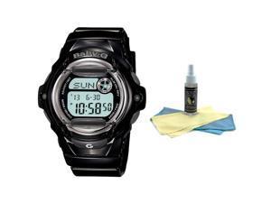 Casio BG169R-1 Women's Baby G Digital Watch with 30ml Ultimate Watch Cleaning Ki
