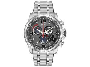 Citizen BY0100-51H Men's Chrono-Time A-T Eco-Drive Radio Controlled Grey Dial St