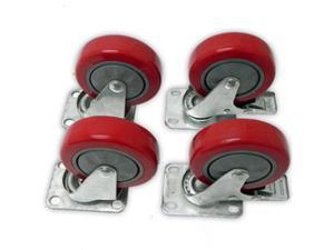 Seismic Audio - 2 Locking and 2 Non-Locking Swivel Casters