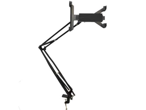 Seismic Audio - SATAB6 - iPad Adjustable Stand for Desk or Table Top - Works with Most Tablets, Android, Etc