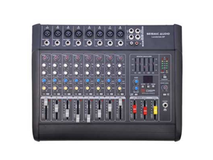 Seismic Audio LandSlide-8P 8 Channel DSP Professional Powered Mixer