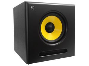 Seismic Audio - Spectra-10SUB - Active 10 Inch Studio Subwoofer - 100 Watts RMS - Studio Subwoofer Home Theater Subwoofer Multimedia Subwoofer