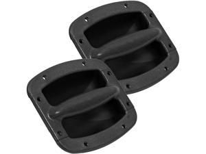 Seismic Audio - SAHDL402-2Pack - Pair of Plastic Recessed Handles for PA/DJ Speaker Cabinets - Replacement Speaker Cabinet ...