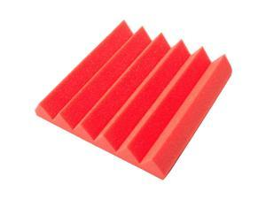 Seismic Audio - SA-FMDM2-Red - 2 Inch Red Studio Acoustic Foam Sheet - Noise Cancelling Sound Dampening Foam