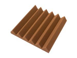 Seismic Audio - SA-FMDM2-Brown - 2 Inch Brown Studio Acoustic Foam Sheet - Noise Canceling Sound Dampening Foam