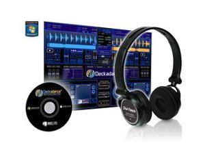 DJ-TECH DJH555 USB HEADPHONES W/SOUNDCARD BUILT