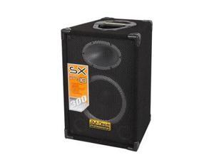 "DJ TECH SX-10 10"" 300W VENTED DJ SPEAKER SYSTEM"