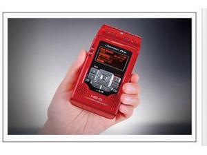 DJ TECH HR5 RED PRO DIGITAL PORTABLE AUDIO RECORDER SD