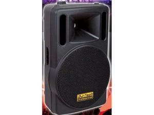 "DJ TECH T545A 600W 15"" 2-WAY ACTIVE DJ SPEAKER W/EQUAL"