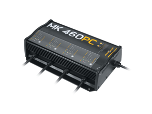MINN KOTA 1824601 MK-460 PRECISION CHARGER (4 BANK X 15 AMPS)