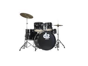 ddrum D2 5pc Drum Set with Hdwr & Cyms - Midnight Black