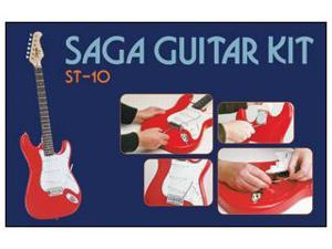 Custom-Built ST-10 Electric Guitar Kit from SAGA