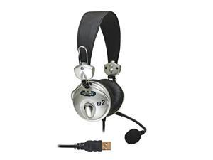 CAD USB Stereo Headphones with Cardioid Condenser Microphone