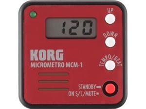 Korg microMetro Clip-On Digital Metronome in Red