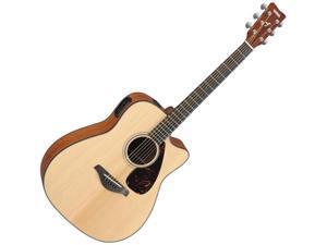 Yamaha FGX700SC Acoustic/Electric Guitar in Natural